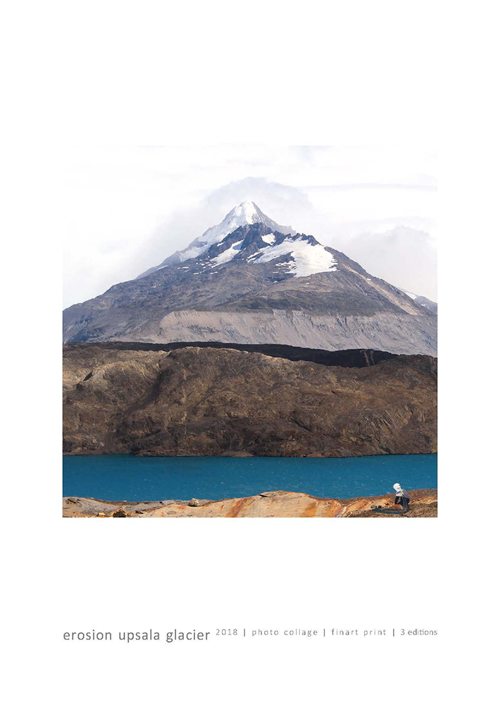 erosion upsala glacier