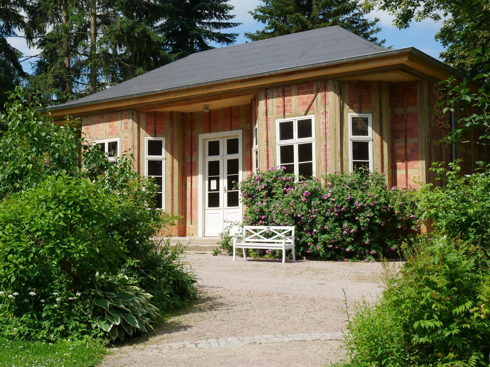 Park Tiefurt: Teesalon